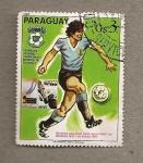 Stamps Paraguay -  Campeonato futbol España 82