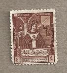 Sellos de America - Rep Dominicana -  20 Aniv coronacion Virgan Altagracia