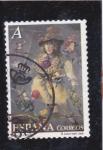 Stamps Spain -  El Circo- Konis en la cuerda floja      (M)