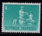 Sellos del Mundo : Asia : Indonesia : Cartero