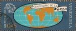 Sellos del Mundo : America : Venezuela : Centenario de la UPU. Globo y emblema.