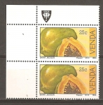 Stamps South Africa -  FRUTOS