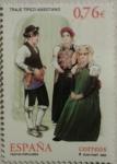 Stamps Spain -  traje tipico ansotano.fiestas populares 2003