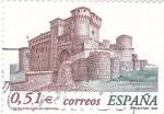 Stamps Spain -  Castillo de Cuellar (Segovia)        (M)