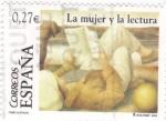 Stamps Spain -  La mujer y la lectura        (M)