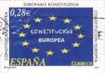 Stamps Spain -  Constitución Europea         (M)