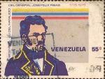 Sellos del Mundo : America : Venezuela : Bicentenario del Natalicio del General José Felix Ribas (1775-1975).