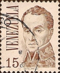 Sellos del Mundo : America : Venezuela : Simón Bolívar.