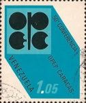Stamps Venezuela -  50 Conferencia OPEP en Caracas.