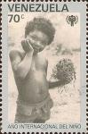 Sellos de America - Venezuela -  Año Internacional del Niño. I
