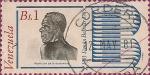 Sellos de America - Venezuela -  Bicentenario de Bolívar (1783-1983). Abolición de la esclavitud.