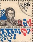 Stamps Venezuela -  Bernardo O'higgins (1776-1842).