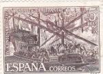 Sellos de Europa - España -  IV Centenario de la Batalla de Lepanto       (M)