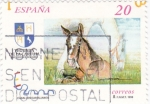 Sellos de Europa - España -  Yeguada de la Cartuja      (M)
