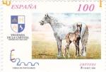 Stamps Spain -  Yeguada de la Cartuja      (M)