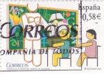 Sellos de Europa - España -  Homenaje al Maestro       (M)