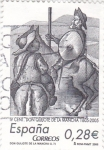 Stamps Spain -  IV Centenario Don Quijote de la Mancha 1605-2005      (M)