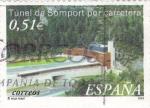 Stamps Spain -  Tunel de Somport     (M)