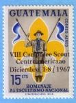 Stamps Guatemala -  Homenaje al Escultismo Nacional