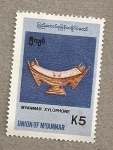Stamps Asia - Myanmar -  Xilofono