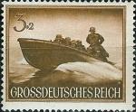 Stamps Germany -  Journée des héros (II)