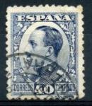 Sellos de Europa - España -  ESPAÑA 1930_497 Alfonso XIII. Tipo Vaquer, de perfil