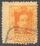 Stamps Spain -  ESPAÑA 1922_320 Alfonso XIII. Tipo Vaquer