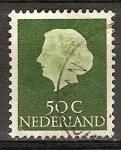 Sellos del Mundo : Europa : Holanda : Reina Juliana.