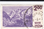 Sellos de Asia - India -  Montaña del Himalaya