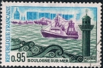Sellos de Europa - Francia -  TURISMO 1966-67. BOULOGNE SUR MER. Y&T Nº 1503
