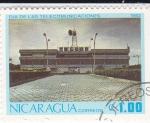Stamps Nicaragua -  Día de las Telecomunicaciones