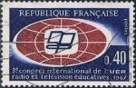 Sellos de Europa - Francia -  3ER CONGRESO INTERNACIONAL DE LA UNI�N EUROPEA DE RADIODIFUSI�N. Y&T N� 1515