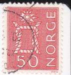 Stamps Norway -  Nudo Marinero