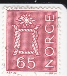 Stamps : Europe : Norway :  Nudo Marinero