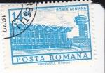 Sellos de Europa - Rumania -  Aereopuerto Otopeni