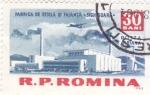 Sellos de Europa - Rumania -  Fabrica de  Sitiglá