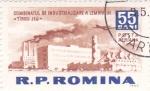 Stamps Romania -  Indústrias en -Tiagu Jiu-