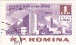 Stamps Romania -  Indústria Química de Fibra Sintética en- Savinesti-