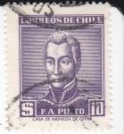 Sellos de America - Chile -  F.A.Pinto- Militar