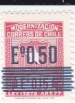 Sellos de America - Chile -  Modernización- Escudo-