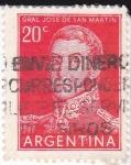 Sellos de America - Argentina -  Gral.José de San Martín