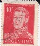 Stamps Argentina -  Gral.José de San Martín