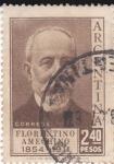 Sellos de America - Argentina -  Florentino  Ameghino- naturalista 1854-1914