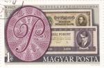 Sellos de Europa - Hungría -  Emblema Fábrica de Billetes