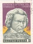Sellos de Europa - Hungría -  L.Beethoven- compositor