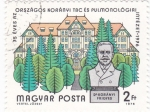 Sellos de Europa - Hungría -  Dr. Koranyi Frigyes- Médico pulmonar