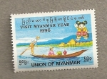 Sellos del Mundo : Asia : Myanmar : Visitar Myanmar