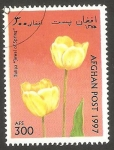 Sellos de Asia - Afganistán -  Flor tulipan