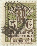 sellos de Europa - España -  AYUNTAMIENTO DE BARCELONA . SERIE 4ª