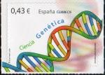 Sellos de Europa - España -  4456- Ciencia . Genética.